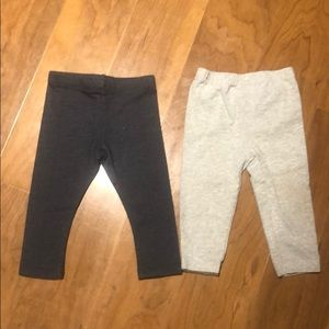 2 pair of little girl pants